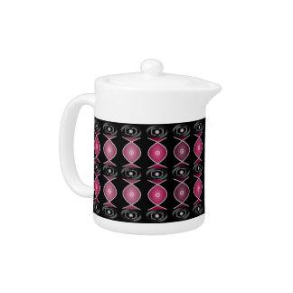 Plum Royale Porcelain Teapot