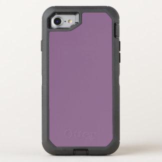 Plum Solid Color OtterBox Defender iPhone 8/7 Case