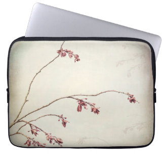 Plum Tree Branch with Spring Buds | Seabeck, WA Laptop Sleeve