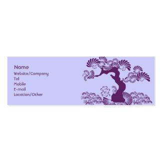 Plum Tree Business Card Templates