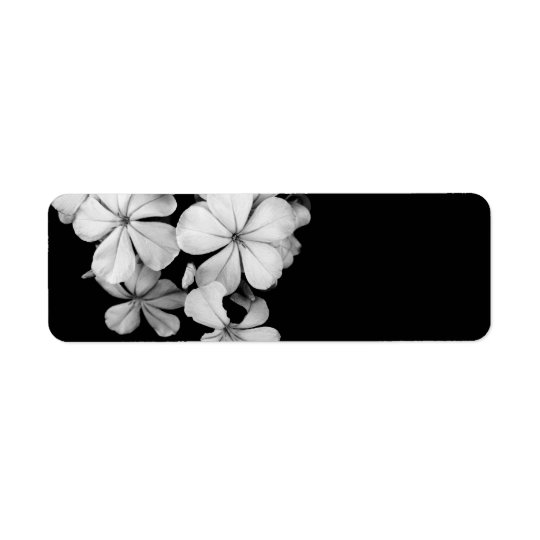 plumbago return address label