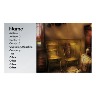 Plumber - An old farm kitchen (heating) Pack Of Standard Business Cards