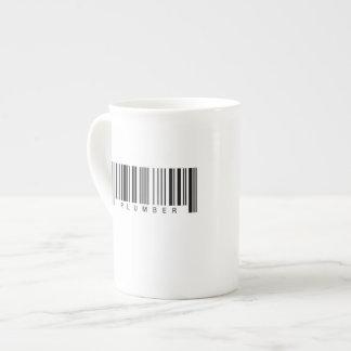 Plumber Barcode Tea Cup