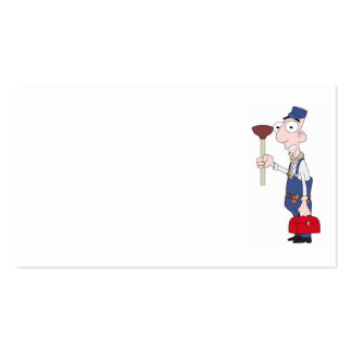 plumber pack of standard business cards
