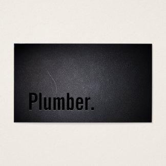 Plumber Elegant Dark Minimalist
