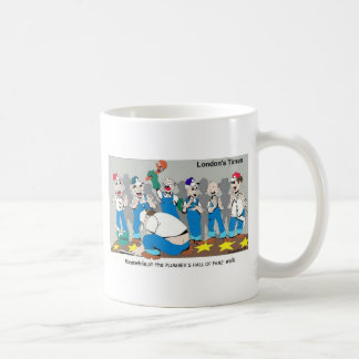 Plumber Hall Of Fame Funny Gifts Tees Collectibles Basic White Mug