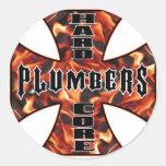 Plumber Hard Core Sticker