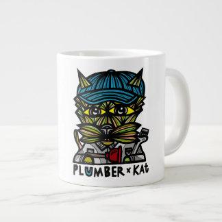"""Plumber Kat"" Jumbo Mug"