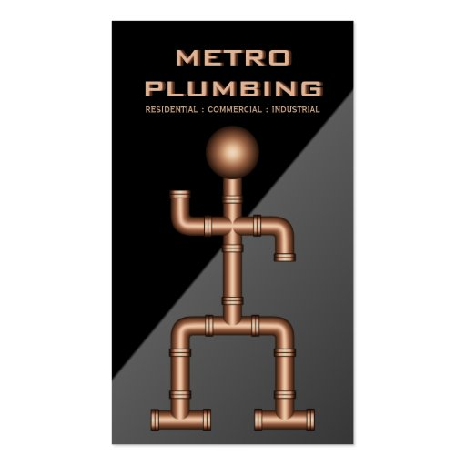 Plumber Plumbing Business Cards Business Cards