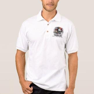 Plumber Skull Excuse me while I take a leak Polo T-shirts