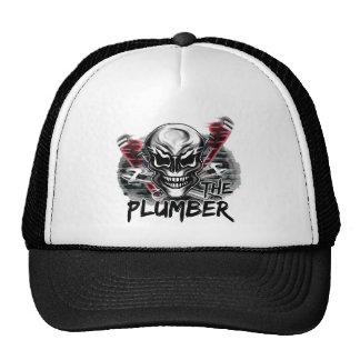 Plumber Skull The Plumber Mesh Hats