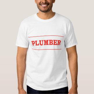 PLUMBER TSHIRTS
