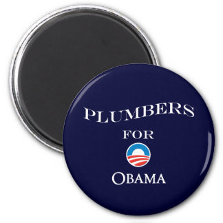 Plumbers for Obama Magnet