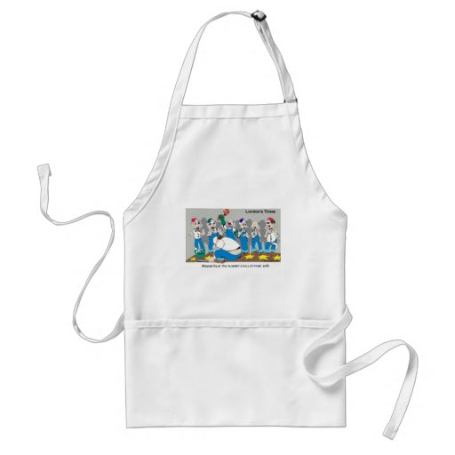 Plumbers Hall Of Fame Funny Gifts & Collectibles Aprons