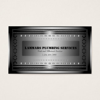 Plumbers Plumbing Service Business Card