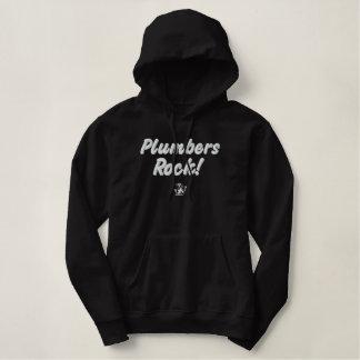 Plumbers Rock Embroidered Hoodie