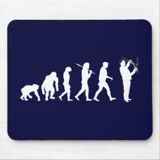Plumbing Evolution Plumber Pipefitter Pipe Sewer Mouse Pad