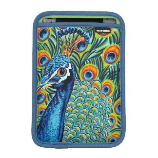 Plumed Peacock I Sleeve For iPad Mini