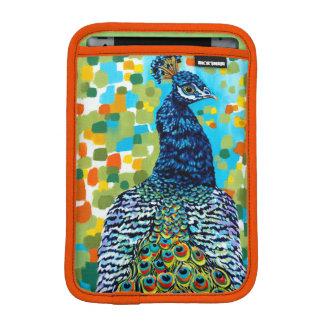 Plumed Peacock II iPad Mini Sleeves