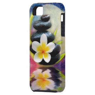 plumeria design tough iPhone 5 case