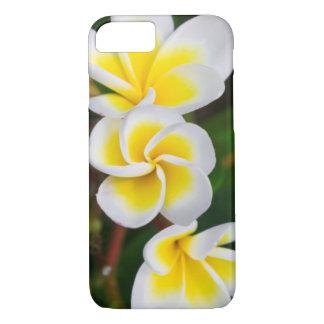 Plumeria flowers close-up, Hawaii iPhone 7 Case