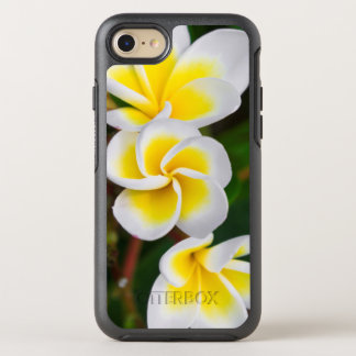 Plumeria flowers close-up, Hawaii OtterBox Symmetry iPhone 7 Case