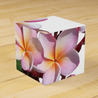 Plumeria Flowers Favor Box