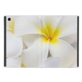 Plumeria Flowers Hawaiian Frangipani Floral Flower iPad Mini Cover