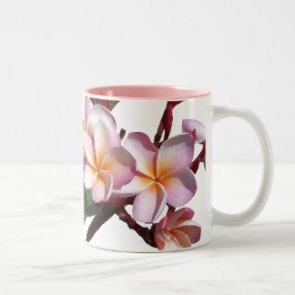 Plumeria Flowers Mug