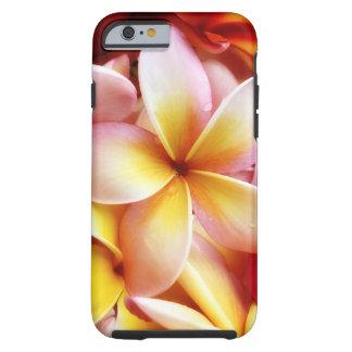 Plumeria Frangipani Hawaii Flower Customised Blank Tough iPhone 6 Case