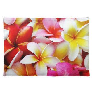 Plumeria Frangipani Hawaii Flower Customised Place Mat
