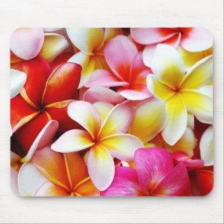 Plumeria Frangipani Hawaii Flower Customised Mouse Pad