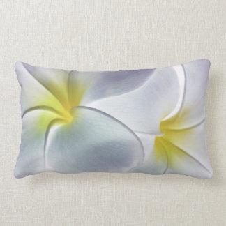 Plumeria Frangipani Hawaii Flower Customized Blank Lumbar Pillow
