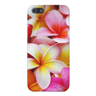 Plumeria Frangipani Hawaii Flower Customized iPhone 5/5S Cases