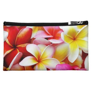 Plumeria Frangipani Hawaii Flower Customized Makeup Bag