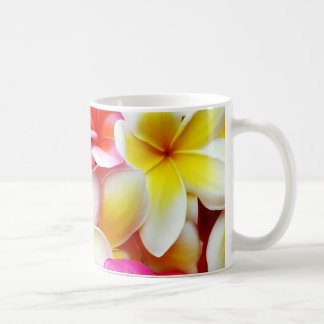 Plumeria Frangipani Hawaii Flower Hawaiian Flowers Basic White Mug