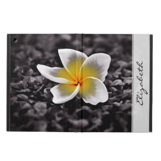 Plumeria Frangipani Hawaii Flower iPad Air Case