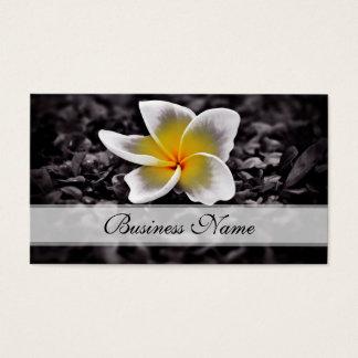 Plumeria Frangipani Hawaii Flowers Business Card