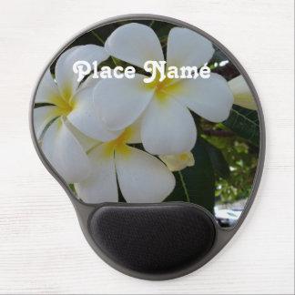 Plumeria Gel Mouse Pad