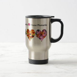 Plumeria - I Love Plumeria Coffee Mugs