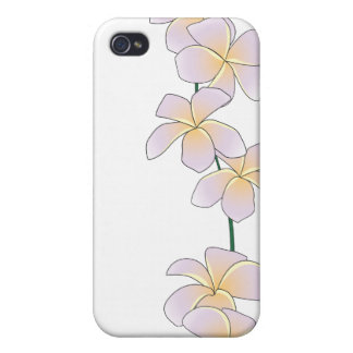 Plumeria iPhone 4 Case