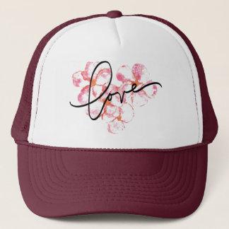 Plumeria Love Trucker Cap