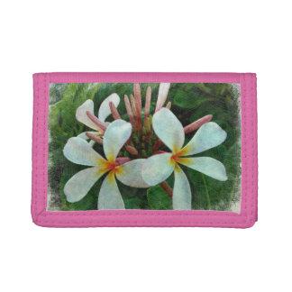 Plumeria Trifold Wallet