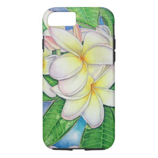 Plumeria Watercolor iPhone 8/7 Case