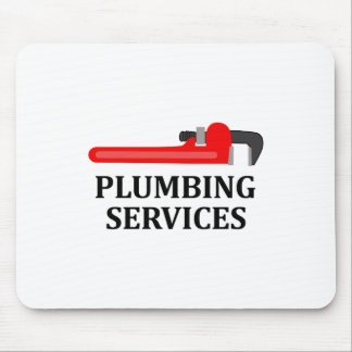 Plumning Services Mouse Pad