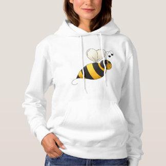 Plump Bee Womens Hoodie