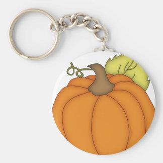 Plump Pumpkin Key Ring