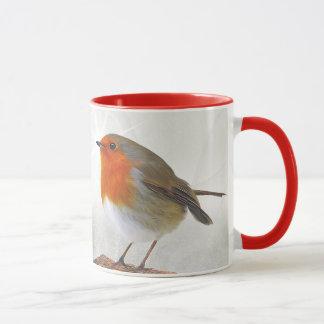 Plump Robin Redbreast Mug