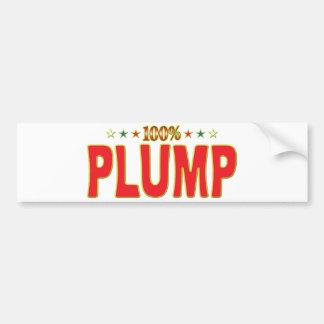 Plump Star Tag Bumper Stickers