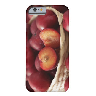 Plums in basket barely there iPhone 6 case